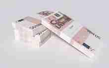 Beitragsbild: 12000 Euro in gebündelten Banknoten