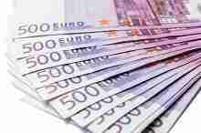 Beitragsbild: 13.000 Euro in 500-Euro-Scheinen