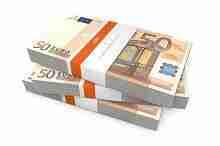 5000 Euro in Scheinen