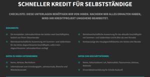 Screenshot Lendico Firmenkredit
